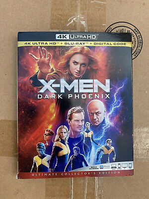 X-Men Dark Phoenix 4K DVD+Blu-Ray (No Digital Code)