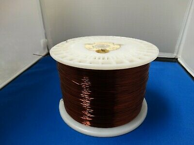 Belden Heavy Armored Red/Copper colored Magnet Wire, Jewelers wire