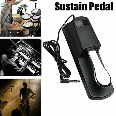 Universal Sustain Foot Pedal Damper for Digital Piano Electric Keyboard