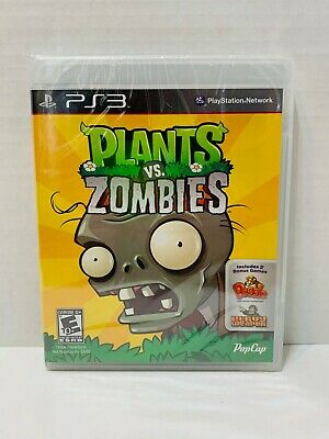Plants Vs Zombies 1 Ps3 Playstation 3 Sealed pop cap games Brand new