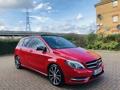 2013 Mercedes-Benz B Class 1.8 B180 CDI Sport 7G-DCT Automatic Diesel 5dr Red