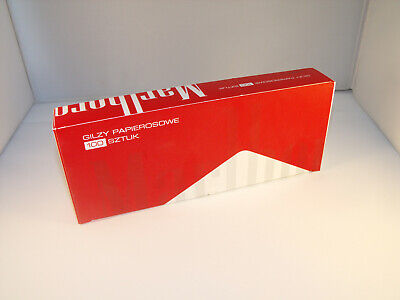 1000 Marlboro Red Filter Tubes Make Your Own