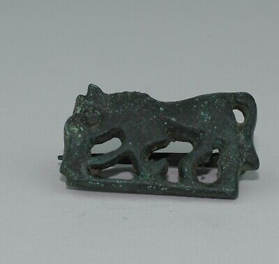 Quality Roman Bronze Zoomorphic Horse Plate Brooch - Circa 2Nd Ad  -  112