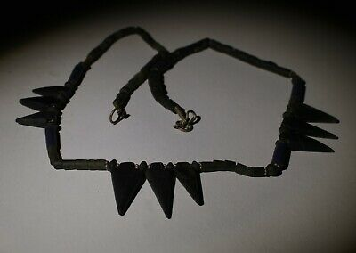 Ancient Carved Mixed Bead Necklace - 03221