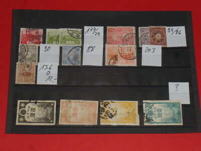 16 alte Marken China Stamps Lot16