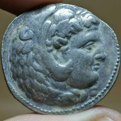 Solid Silver Beautiful Old Coin of The Alexander The Great  # 134