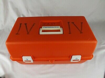 Flambeau PM 2072 10 Compartment First Responder Medical Trauma Box