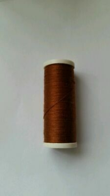 new cotton thread chocolate brown  quality  sewing all purpose all 200m