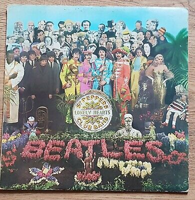 The Beatles - Sgt Peppers Lonely Hearts Club Band. 1967 Vinyl LP. UK Pressing.