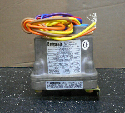 Barksdale D2H-A150Ss Vacuum Actuated Switch