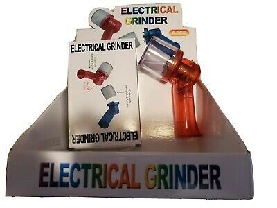 Electronic Crusher Cracker Zinc Alloy Tobacco Spice Herb Tea Grinder