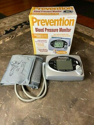 Prevention Digital BLOOD PRESSURE MONITOR, DS-1902, Totally Automatic, NICE!