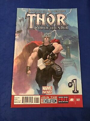 Thor God of Thunder (2013) #1 - 1st Appearance of Old King Thor - Marvel