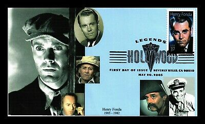 Dr Jim Stamps Us Henry Fonda Hollywood Legends First Day Of Issue Cover
