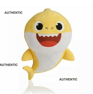 Pinkfong Baby Shark Official Song Doll baby shark singing plush doll-by WowWee