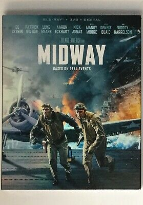 Midway Blu-ray DVD Digital Slipcover Brand NEW FREE~First Class Shipping!