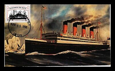 Dr Jim Stamps Us Ship All Over Cachet Scott 3192 On Cover