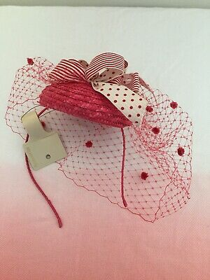 Accessorize Pink Fascinator/Headband/Headpiece/Wedding Guest/ Hair Accessory
