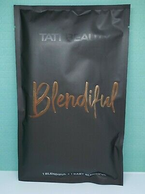 Tati Beauty Blendiful Duo Powder Puff Blender -Brand New in Sealed Bag FAST SHIP