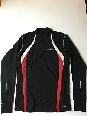 ASICS RUNNING THERMAL JACKET colour BLACK size M