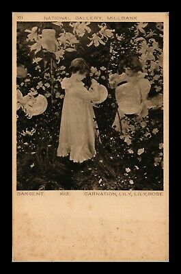 Dr Jim Stamps Carnation Lily Lily Rose Topical United Kingdom Postcard