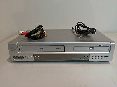 Go Video DV2150 DVD VCR Combo VHS Player - Tested - No Remote