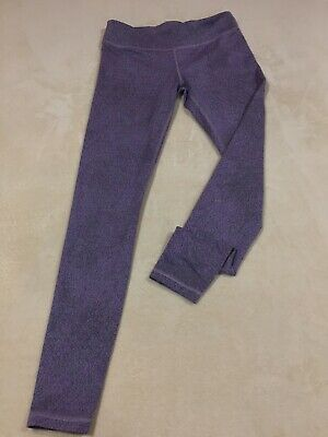 Ivivva Girls Purple Athletic Leggings Size 14