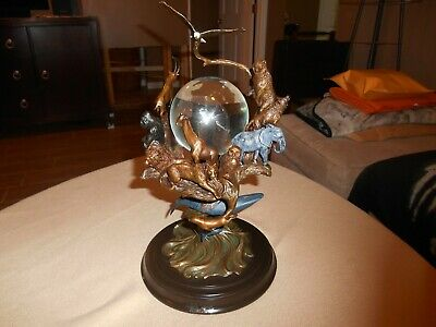 "Franklin Mint ""Guardians of The World Crystal Ball"" Figurine"
