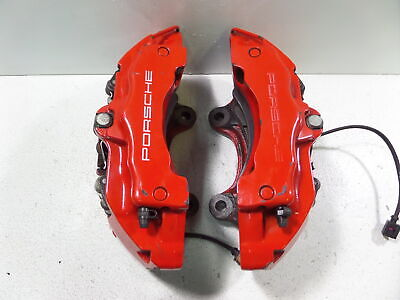 03-06 Porsche Cayenne Turbo 955 OEM 18Z 6POT Front Brembo Brake Calipers Pair