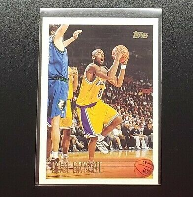 1996-97 Topps #138 Kobe Bryant Rookie Card RC Lakers