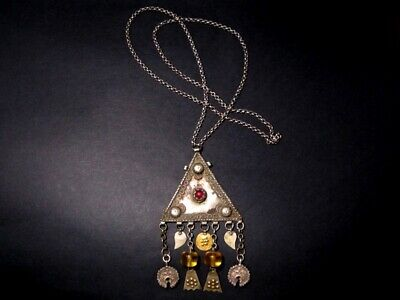 GORGEOUS ANTIQUE 1800's. SILVER JEWELRY NECKLACE from The BALKANS!!!