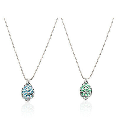 Fashion Women Jewelry Antique Silver Turquoise Pendant Rhinestone Necklace Gift
