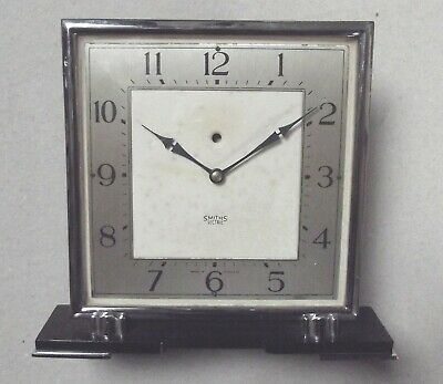 Vintage Smiths Sectric Art Deco Mantle Clock