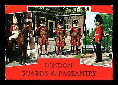 Dr Jim Stamps London Guards Pageantry United Kingdom Continental Size Postcard