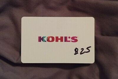 Kohl's Gift Card $25 Online or In Store Free Shipping