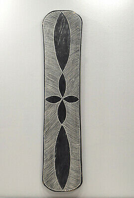 African Shield Camroon Wood Etched Decorative Shield
