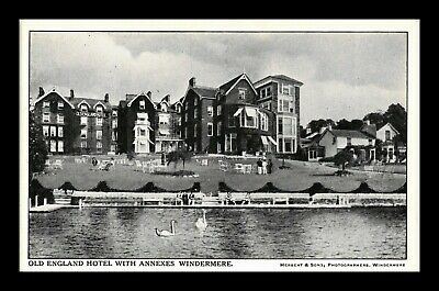 Dr Jim Stamps Old England Hotel Annexes Windermere United Kingdom Postcard