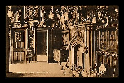 Dr Jim Stamps Entrance Hall Abbotsford United Kingdom View Postcard