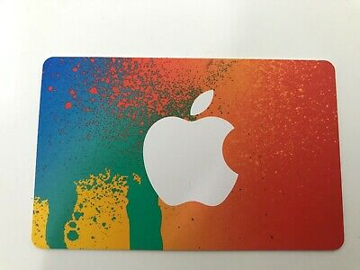 New Apple or iTune $25 Gift Card