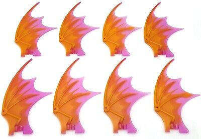 Lego Random Lot of 10 Sets of Matching Dragon Wings from lot pictured