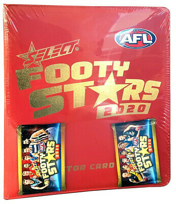 PREORDER - Afl Select Footy Stars 2020 Collectors Album  - BRAND NEW