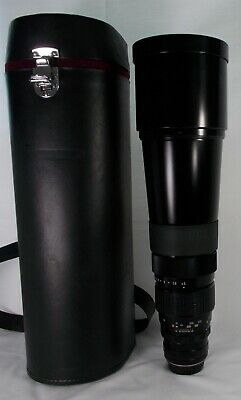 """Pentax SMC 500mm 1:4.5 Telephoto Lens for K Mount """"Excellent+++ #2487 From Japan"""