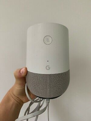 Google Home Smart Assistant - White Slate