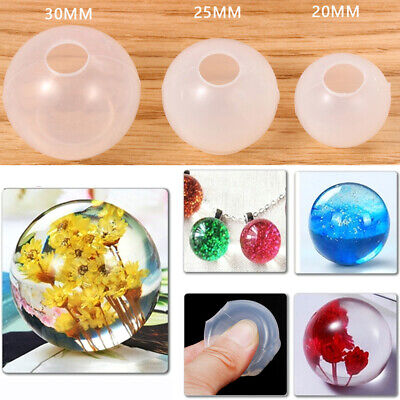 Pendant Transparent Resin Mold Silicone Mould Cosmic ball DIY Jewelry Making+