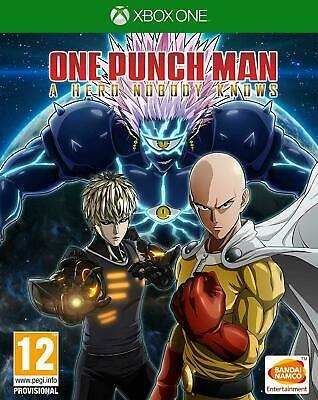one punch man a hero nobody knows +bonus preorder  xbox one no cd no key