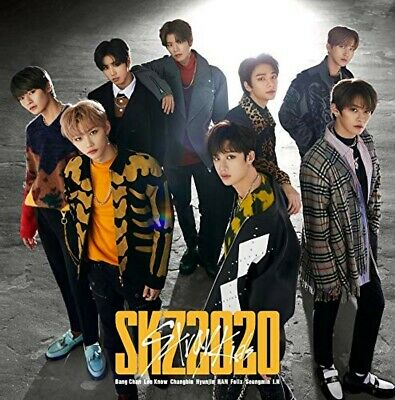 New Stray Kids SKZ2020 First Limited Edition 2 CD Photobook Card Japan ESCL-5373