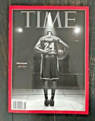 Kobe Bryant Time Magazine Feb, 10 - Final Bow - Newsstand Edition