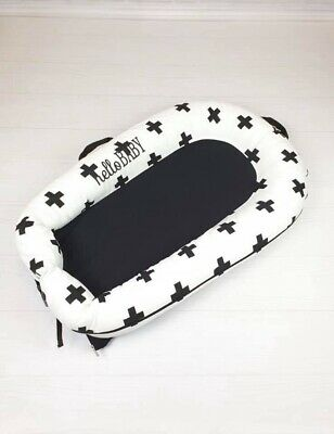 Portable Baby Nest Bed Crib Removable Washable Protect