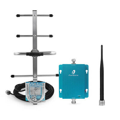 65dB 2G 3G 850MHz AT&T Verizon Wireless Signal Booster Repeater Amplifier Kit