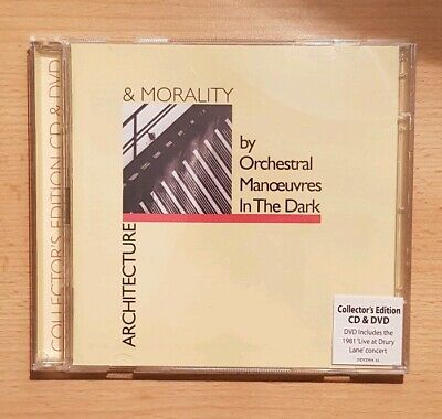 Orchestral Manoeuvres In The Dark(OMD)–Architecture & Morality [CD & DVD]